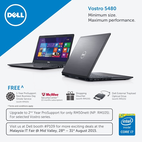 DELL PromotionMITF KL 28 31 Aug 15