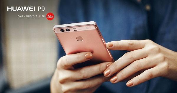 Huawei-P9-Rose-Gold-Lifestyle-Shot