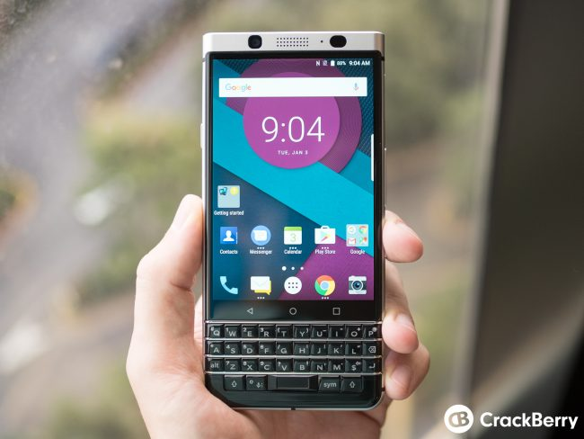 "TCL Shows BlackBerry Device With Keyboard ""Mercury"""