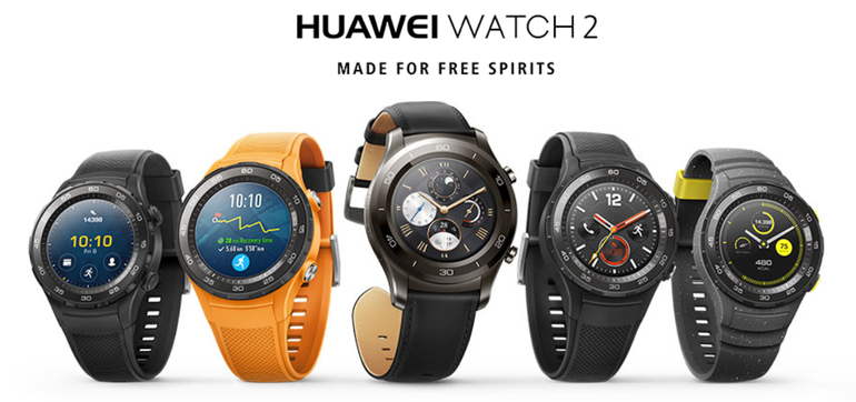 Huawei announces new Watch 2 and Watch 2 Classic smartwatches