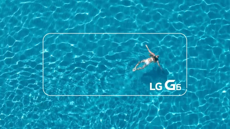 The New LG G6 is water resistant?