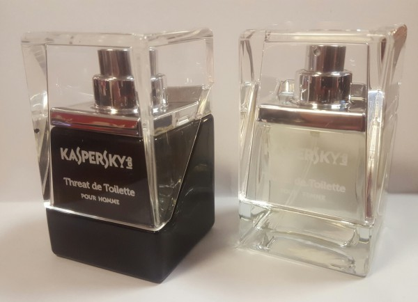 Kaspersky launches a perfume smell of malware