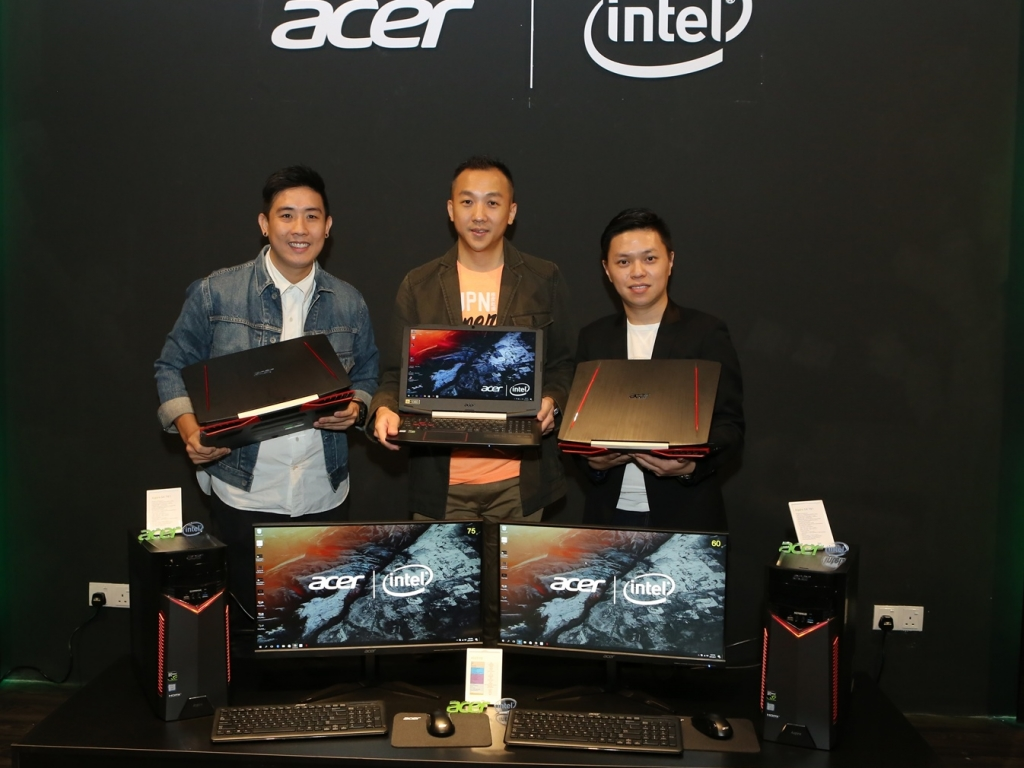 Acer Malaysia Unleashes the True Potential of Gamers via New Gaming Device Lineup