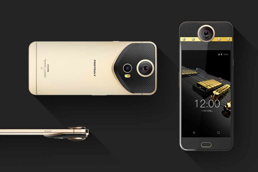 Protruly Darling the world's first smartphone with a 360-degree camera