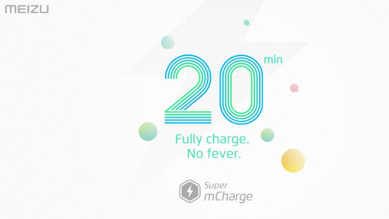 Meizu Introduces 'Super mCharge' Fast Charging Solution at MWC 2017