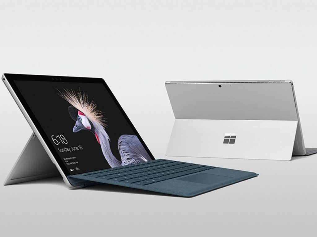 Introducing the next generation of Surface Pro with up to 13.5 hours of battery life