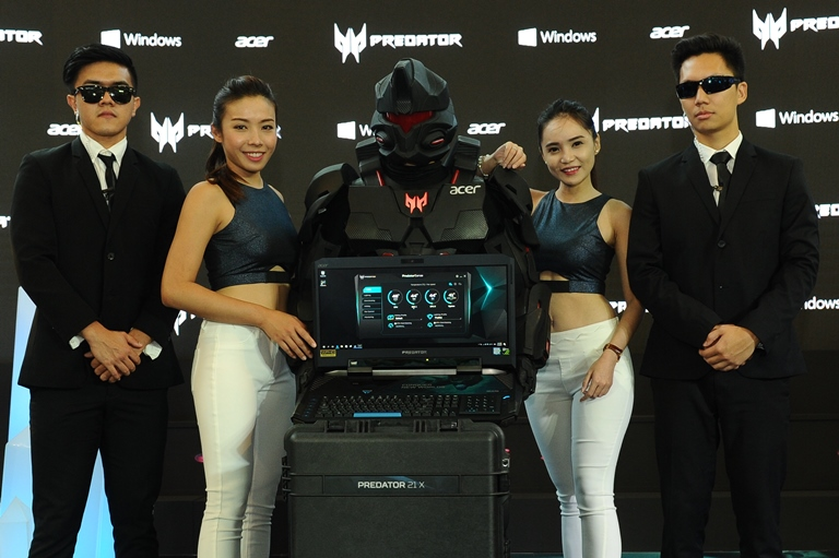 World's First Curved Screen Laptop, Predator 21 X Conquers Gaming World in Malaysia