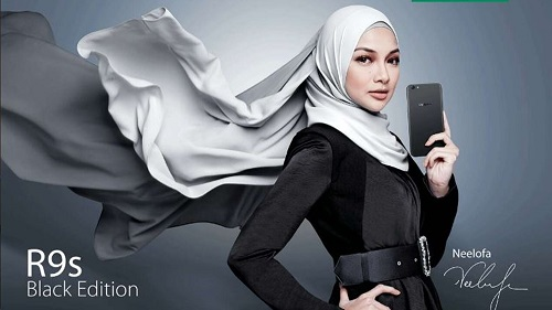 oppo-R9S-Black-Edition-Neelofa