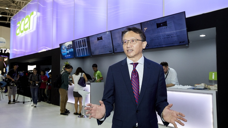 Acer Corporate President and CEO Jason Chen