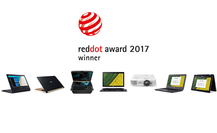 Two Short Films from Acer Honored with Red Dot Award: Communication Design 2017
