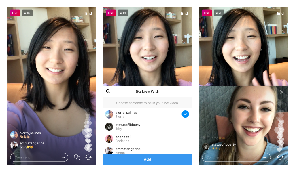 New Update From Instagram – Go LIVE with a friend