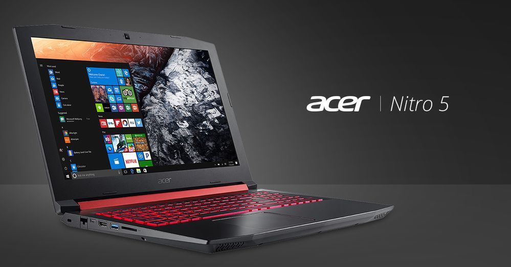 Acer Nitro 5 comes with option of AMD processor and graphics now