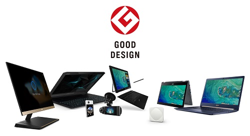 Acer 2017 Good Design Award Winners