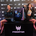 D3S_7056 Models with all the newly launched Predator Triton 700 gaming laptop Predator Orion 9000 gaming desktop Predator Galea 500 gaming headset