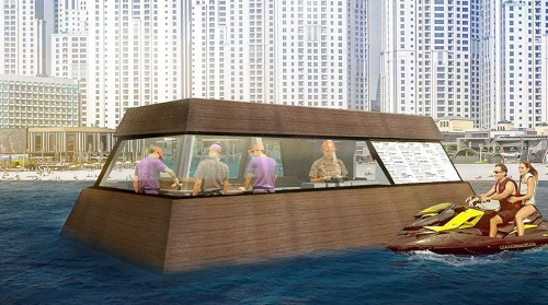 World's first floating kitchen coming to Dubai