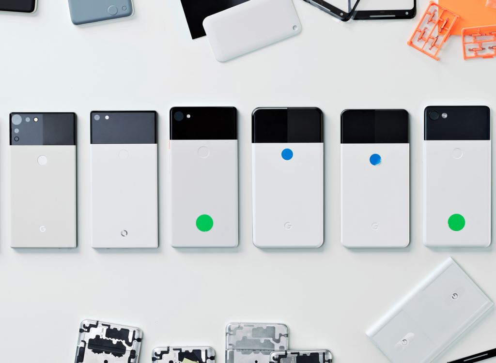 Google's hardware design lead shares images of early Pixel 2