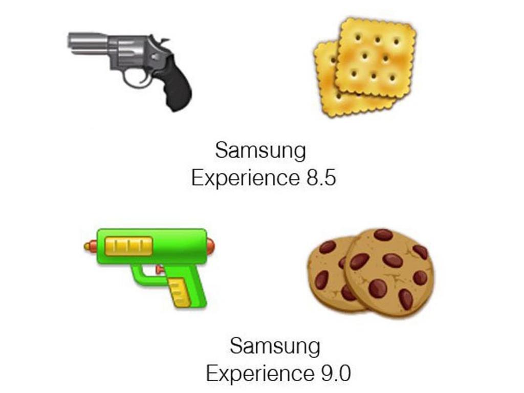 Samsung Experience 9.0 Emoji