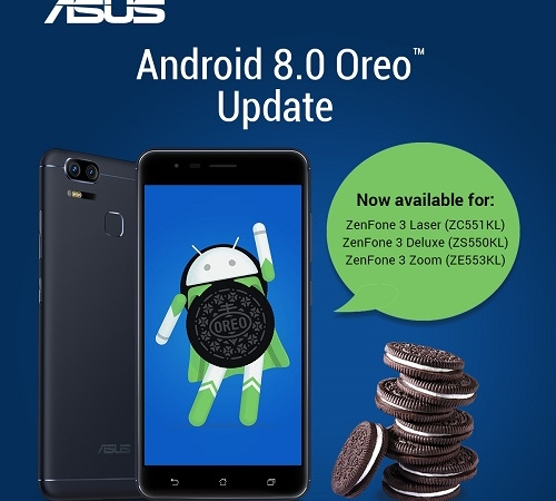 Android 8.0 OREO Update for ZenFone 3 Series