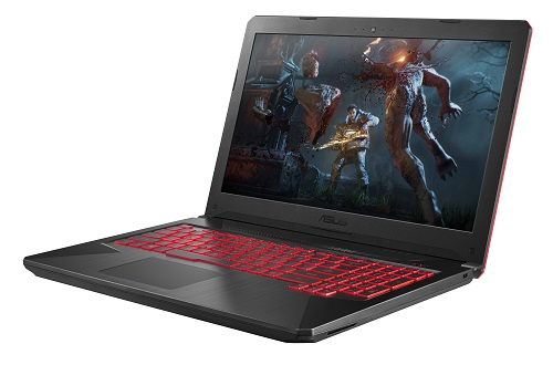 ASUS TUF Gaming FX504_Black Matter_Product Photo 16_Light_Gears of War 4 Wallpaper