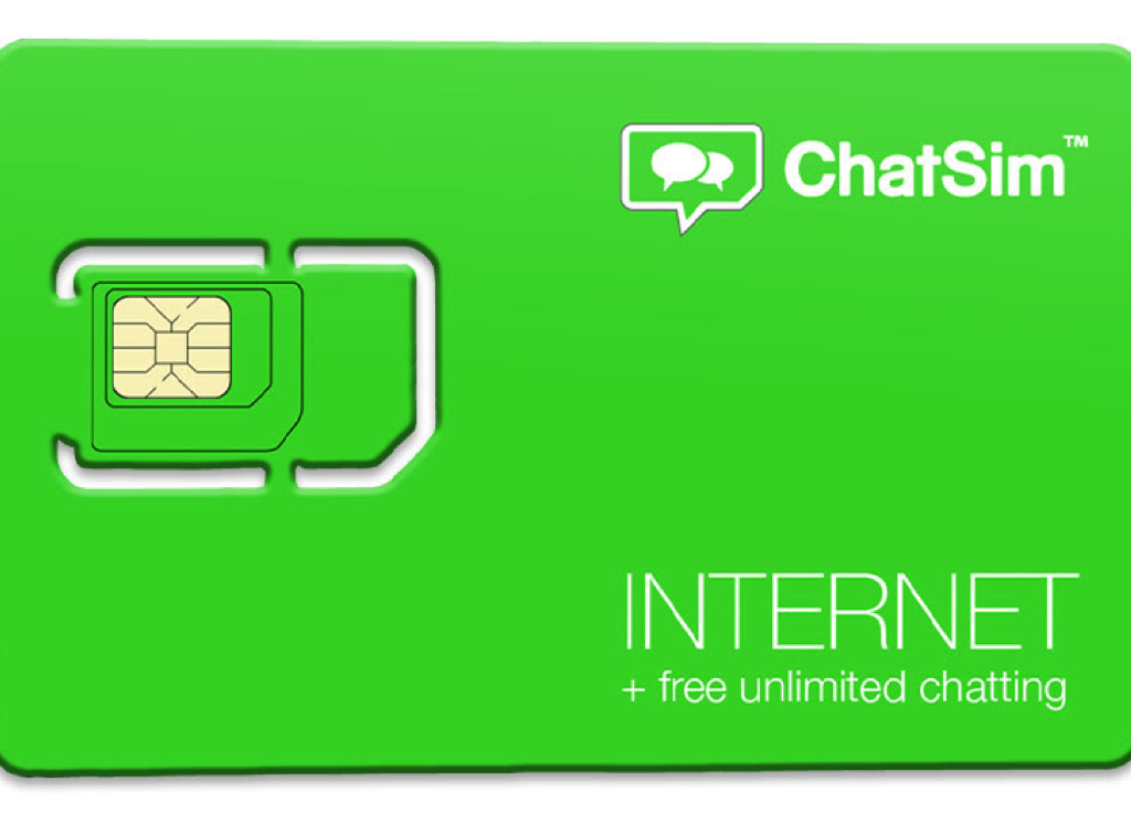 ChatSim the world's first SIM card that connects the best chat apps without roaming or limits, even without Wi-Fi.