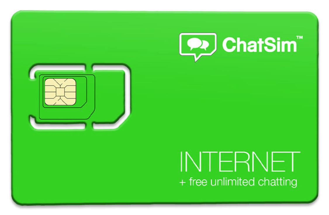 ChatSim the world's first SIM card that connects the best