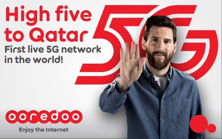 Ooredoo First In The World to Launches 5G in Qatar