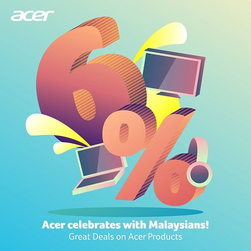 Acer Celebrates with Malaysians! Great Deals on Acer Products