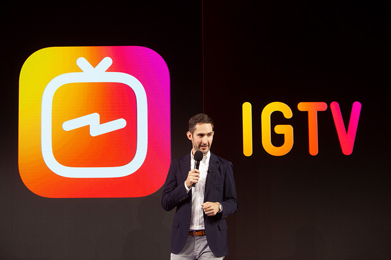 Welcome to IGTV new app for watching Video