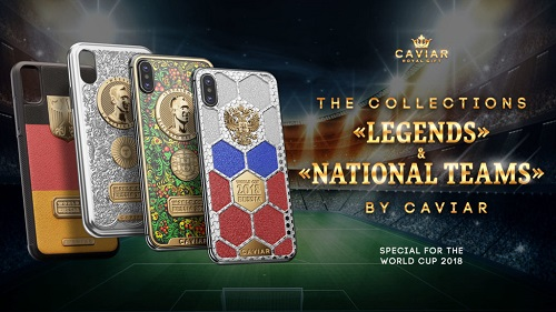Special Edition Phones i Phone X Made Of Gold In Conjunction With World Cup Launched
