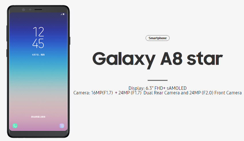 Galaxy A8 Star now on sale in Malaysia – RM1,699