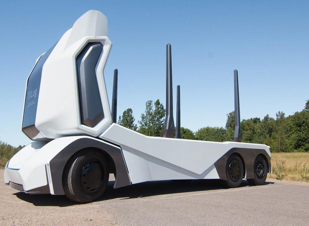 Einride T-log Is the World's First Truck electric propulsion and autonomous driving