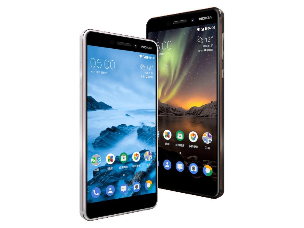 Nokia 6 (2018) Available For Price RM1100