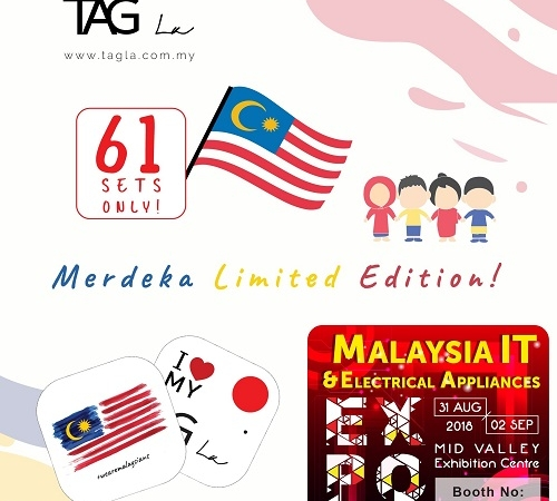 TAG LA@Malaysia IT & Electrical Appliances EXPO 31 AUG-2 SEPT 2018