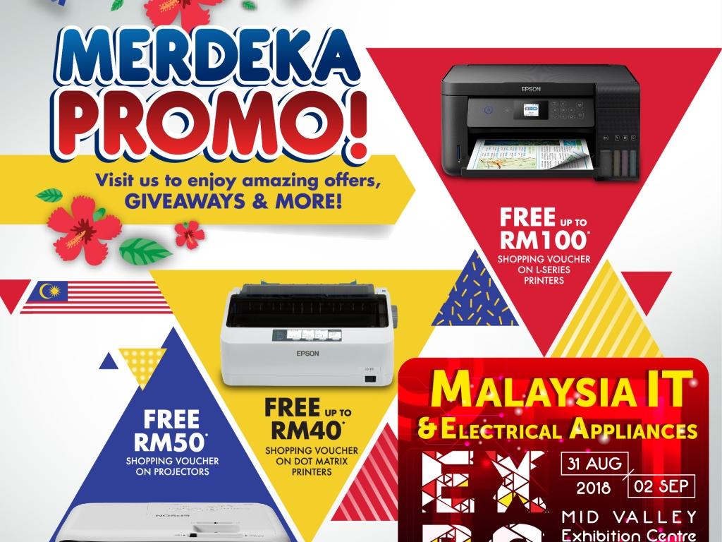 EPSON@Malaysia IT & Electrical Appliances EXPO 31 AUG-2 SEPT 2018