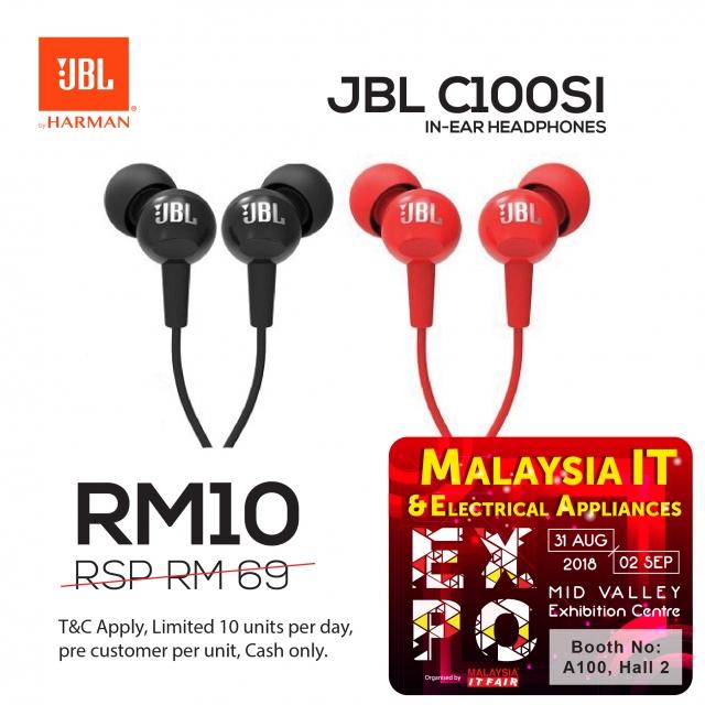 JBL C100SI - MITF Online Advs 500 X 500_FA-01