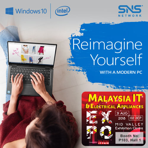 INTEL & MICROSOFT@Malaysia IT & Electrical Appliances EXPO 31 AUG-2