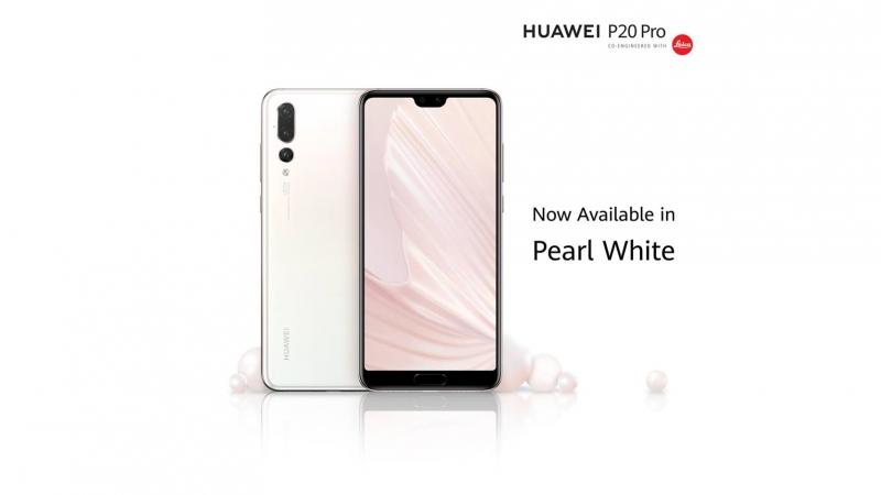 Huawei P20 Pro Pearl White 1