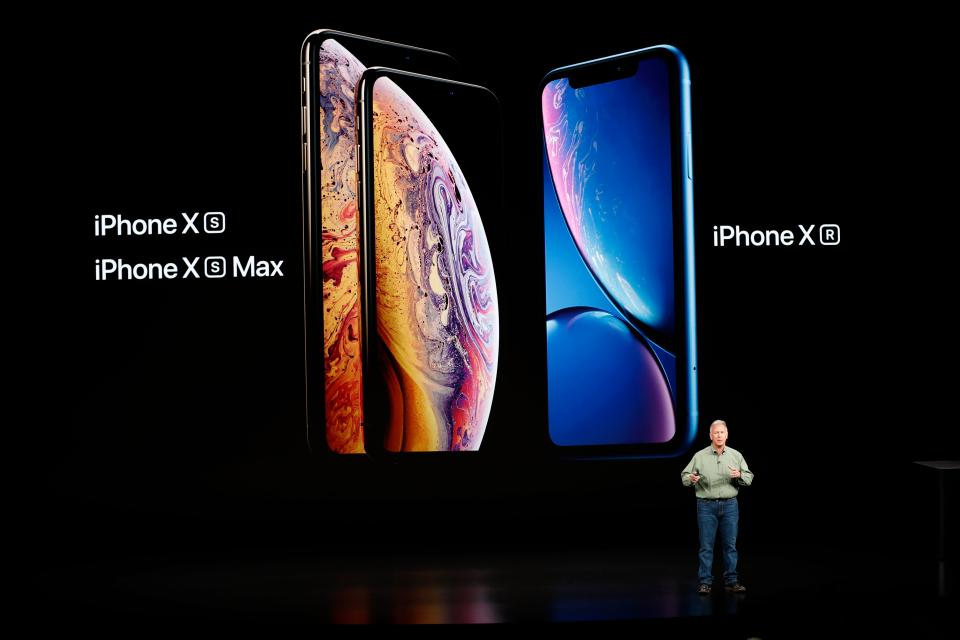 Apple unveils New iPhone XS & iPhone XR