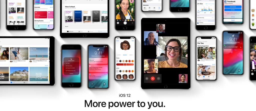 iOS 12 More Power to you. Update now !!
