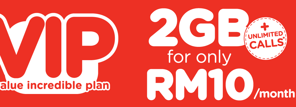 """Tune Talk """"value incredible plan"""" – 2GB for only RM10/month"""
