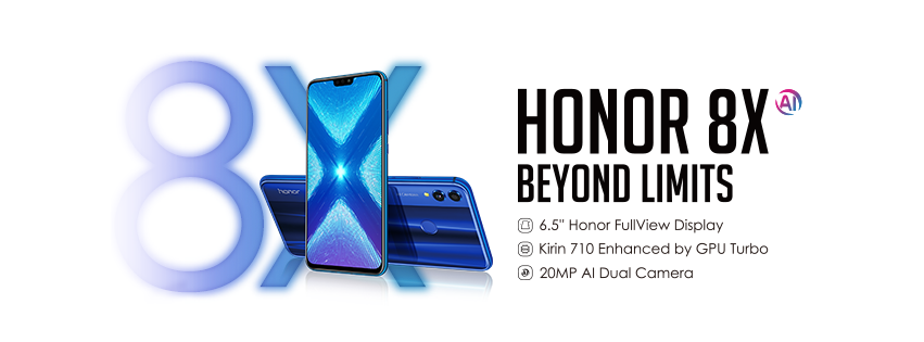 Honor 8X official sale in Malaysia starts on 12 October 2018 only at RM949