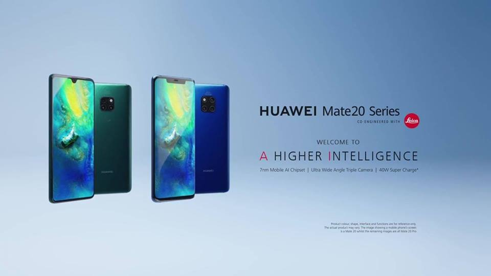 The Huawei Mate 20 Series