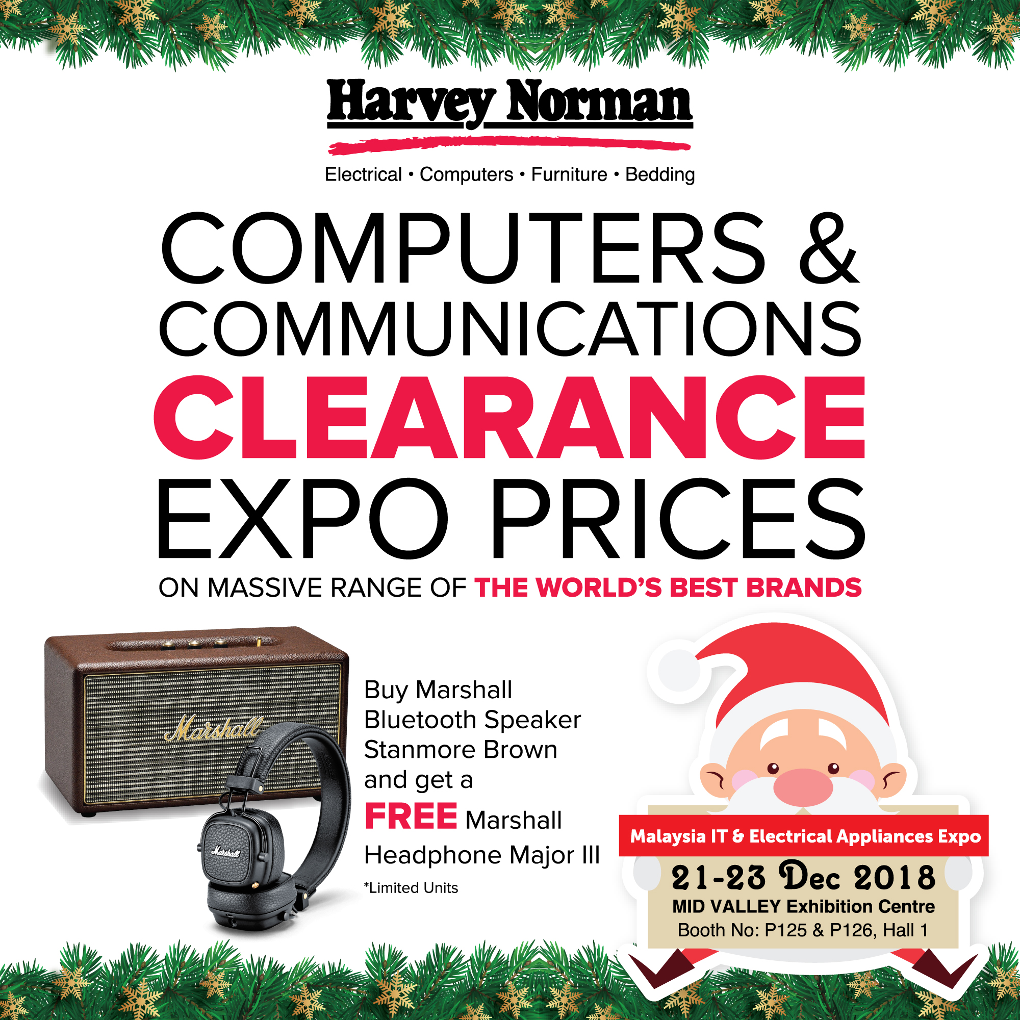 HARVEY NORMAN PROMOTION @ MALAYSIA IT & ELECTRICAL APPLIANCES EXPO II KL