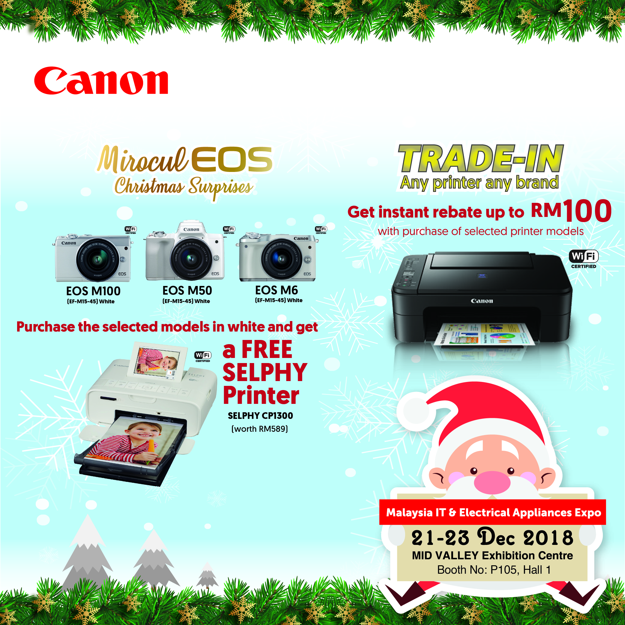 CANON PROMOTION @ MALAYSIA IT & ELECTRICAL APPLIANCES EXPO II KL