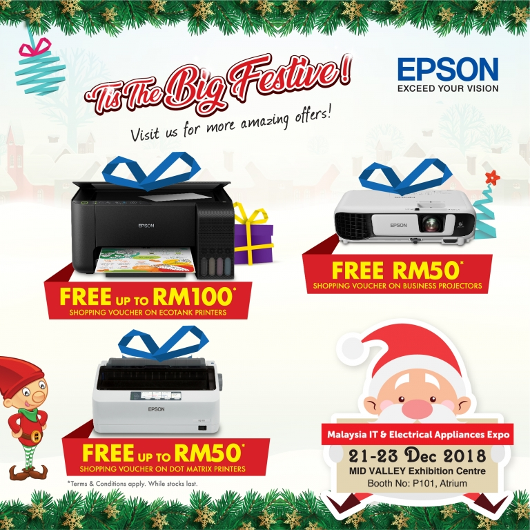 EPSON PROMOTION @ MALAYSIA IT & ELECTRICAL APPLIANCES EXPO II KL