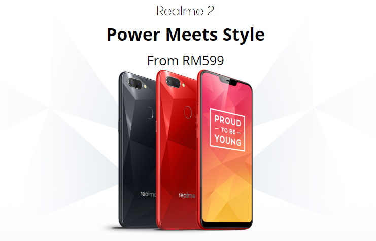 Realme 2 from RM599 available in Malaysia on 24 November