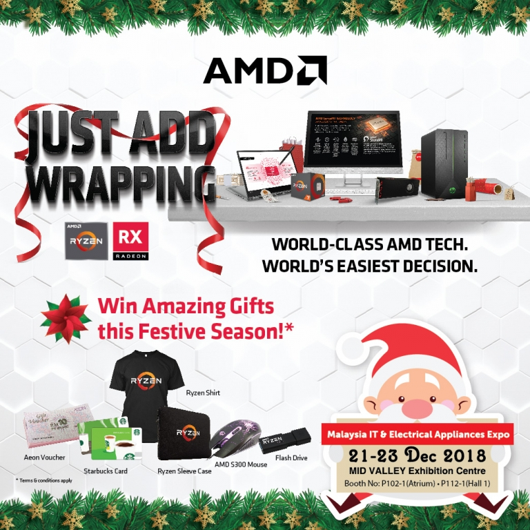 AMD PROMOTIONS @ MALAYSIA IT & ELECTRICAL APPLIANCES EXPO II KL