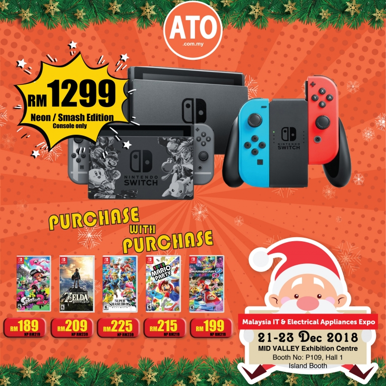 NINTENDO / INTEL PROMOTIONS @ MALAYSIA IT & ELECTRICAL APPLIANCES EXPO II KL