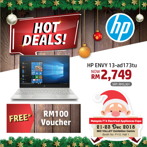 HP PROMOTIONS @ MALAYSIA IT & ELECTRICAL APPLIANCES EXPO II KL