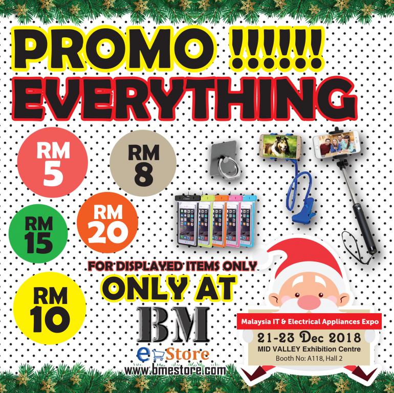BMES PROMOTIONS @ MALAYSIA IT & ELECTRICAL APPLIANCES EXPO II KL